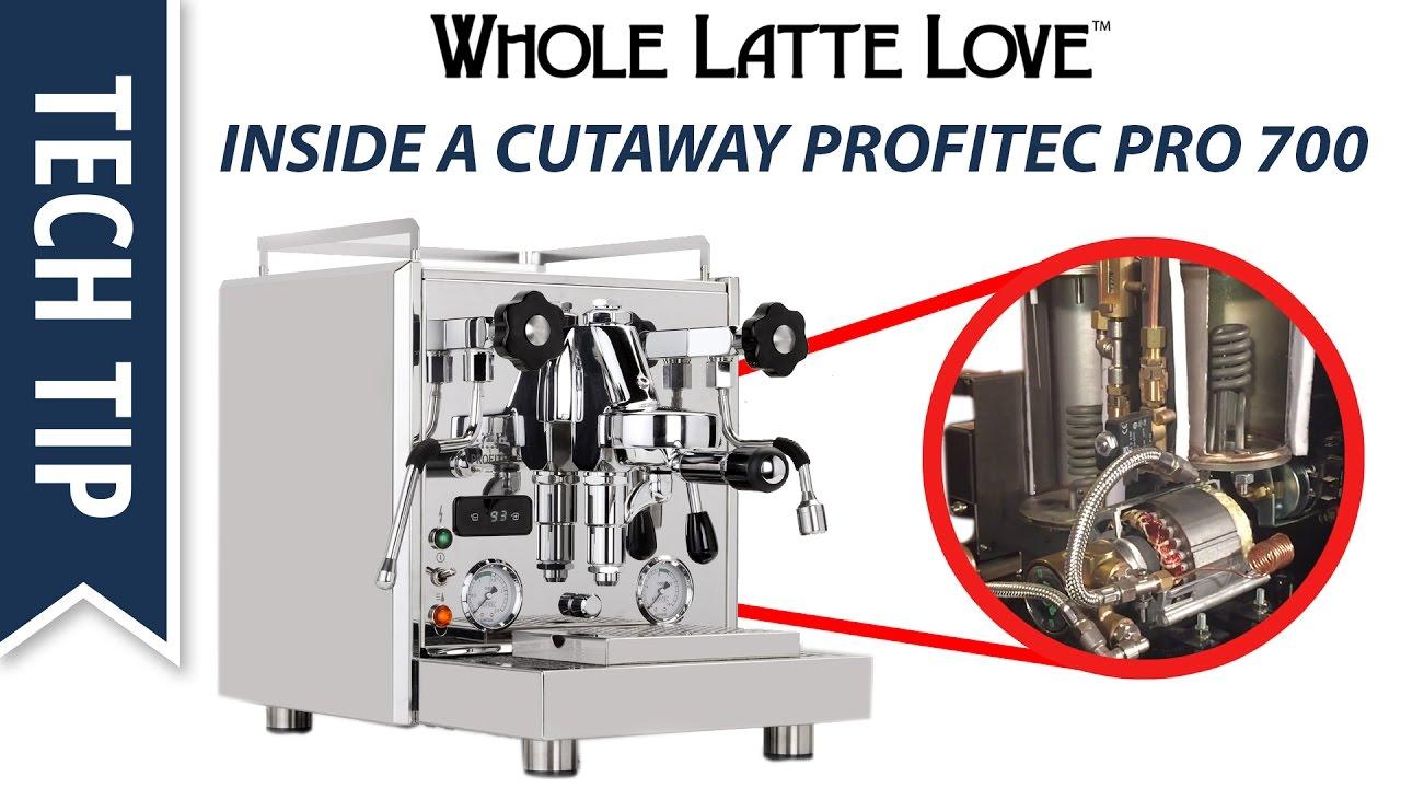 How It Works Deep Inside A Cutaway Profitec Pro 700 Espresso Machine Diagram Youtube