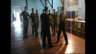 ninjutsu nishikai-sensei Ruben Torres-seminarios gendarmeria-grupo ALACRAN