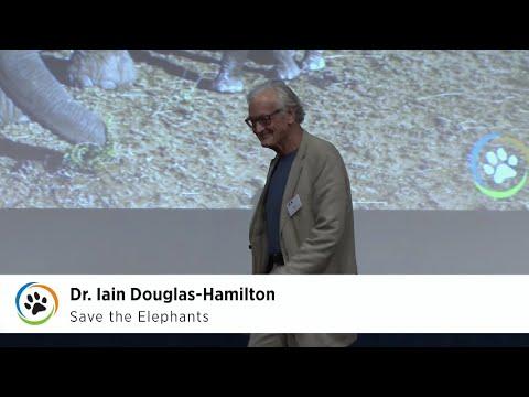 Save the Elephants · Dr. Iain Douglas-Hamilton & Frank Pope · SF Expo 2015
