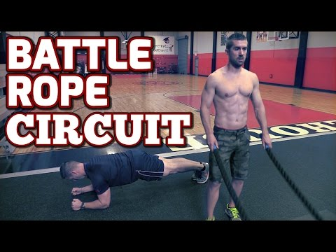 Fight Rope Exercises The HIIT Cardio King