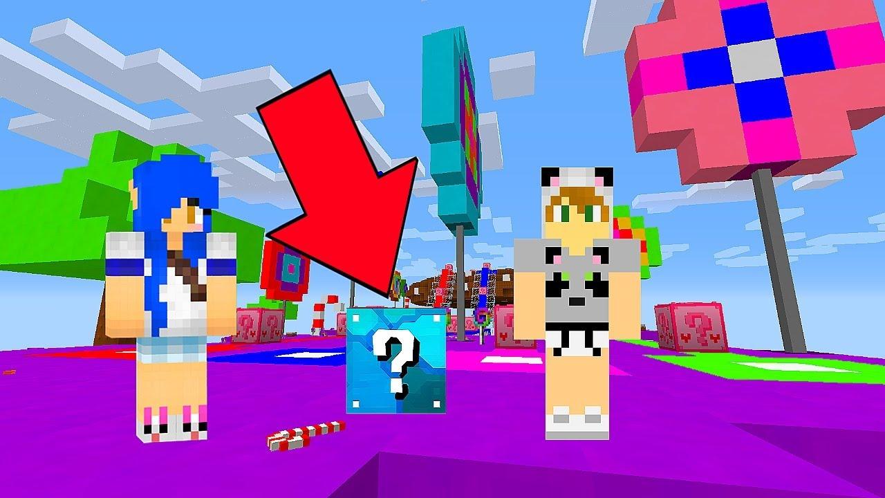 Todas As Lucky Blocks Em Uma So Com Moonkase Minecraft Youtube