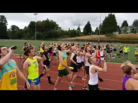 STEVE - Beer Mile Runner Disqualified For Not Drinking Enough