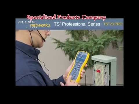 Fluke Networks TS23-PRO Standard Voice, Data And Video Telephone Test Set