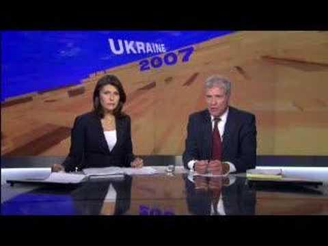 Ukraine -Euro 2012 threat & on road with Yanukovych -29Sep07