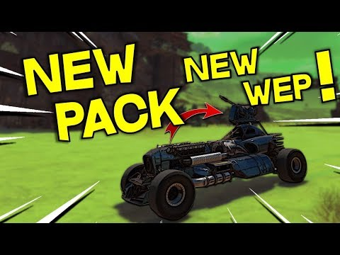 New Born Free Pack And New Weapon On Test Server -- Crossout