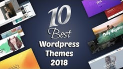 Top 10 Best And Responsive WordPress Themes 2019