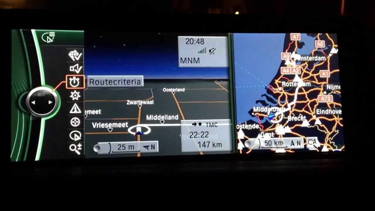 professional navigation system bmw f gps youtube. Black Bedroom Furniture Sets. Home Design Ideas