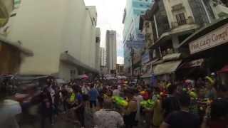 泼水节 Hatyai Songkran Festival 2013