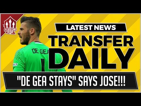 DE GEA To Stay at MANCHESTER UNITED! MUFC Transfer News