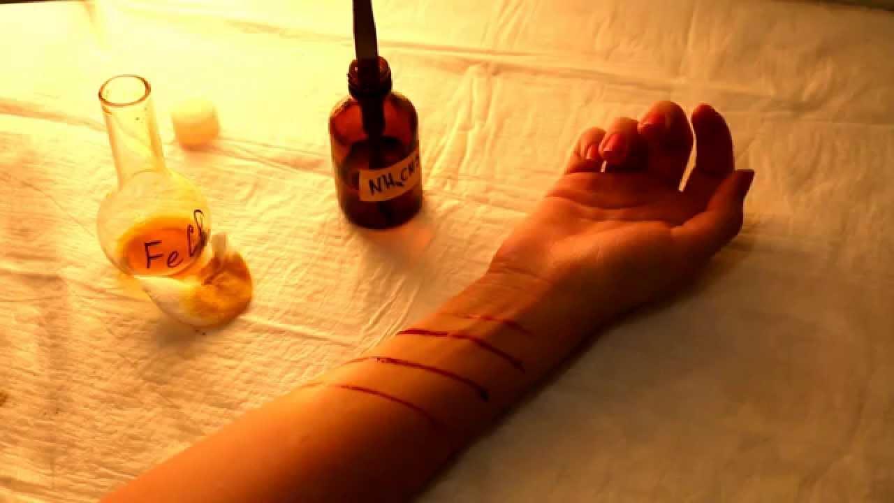 Как сделать бутафорскую кровь фото 704