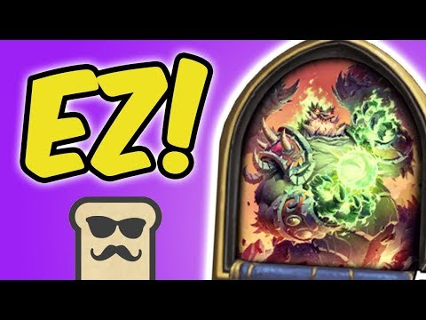 FASTEST DUNGEON RUN EVER! | GIANT WARLOCK | KOBOLDS AND CATACOMBS | HEARTHSTONE | DISGUISED TOAST