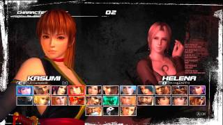 Dead Or Alive 5 (XBox 360) | Live Ranked Match Session | 11/19/2012