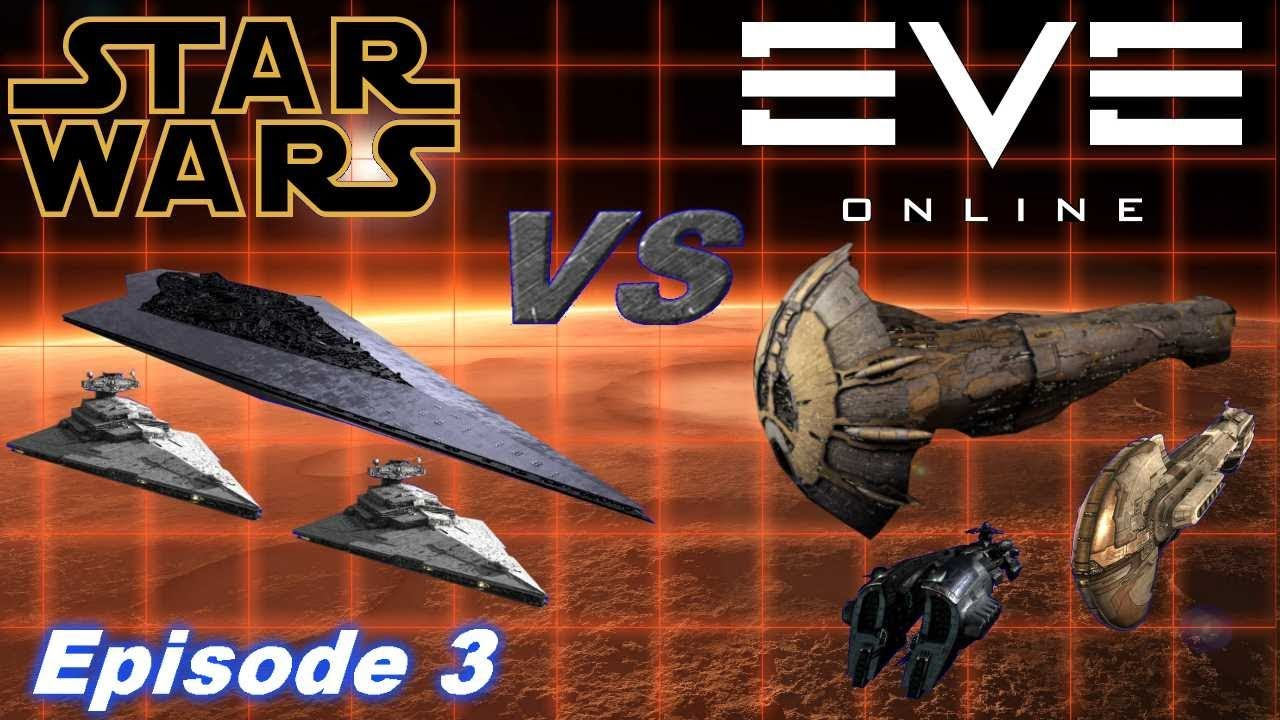 Star Wars vs Eve Online - Epic Imperial Incursion! - Part 3