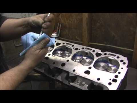 Imhoff SBC 186 Valve Seat Lapping and Checking 7.6