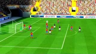 Fifa 2011 Wii Online Ranked Match#3 - Spain vs Germany (Dazran303 vs gianni91)