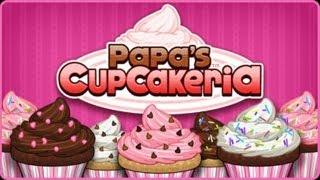 Papa's Cupcakeria ( Juego Aleatorio )