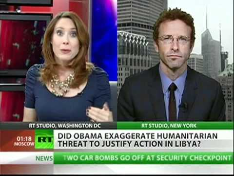 Obama lied about Gaddafi's bloodbath?