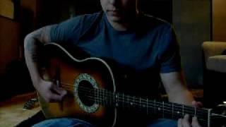 Indian Raga guitar - how to play Indian Music on guitar - Jor in Rag Jog picking example