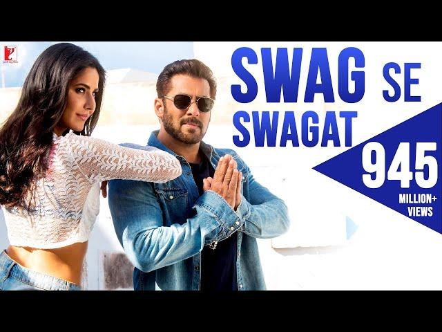 Swag Se Swagat Song | Tiger Zinda Hai | Salman Khan, Katrina Kaif | Vishal & Shekhar, Irshad, Neha