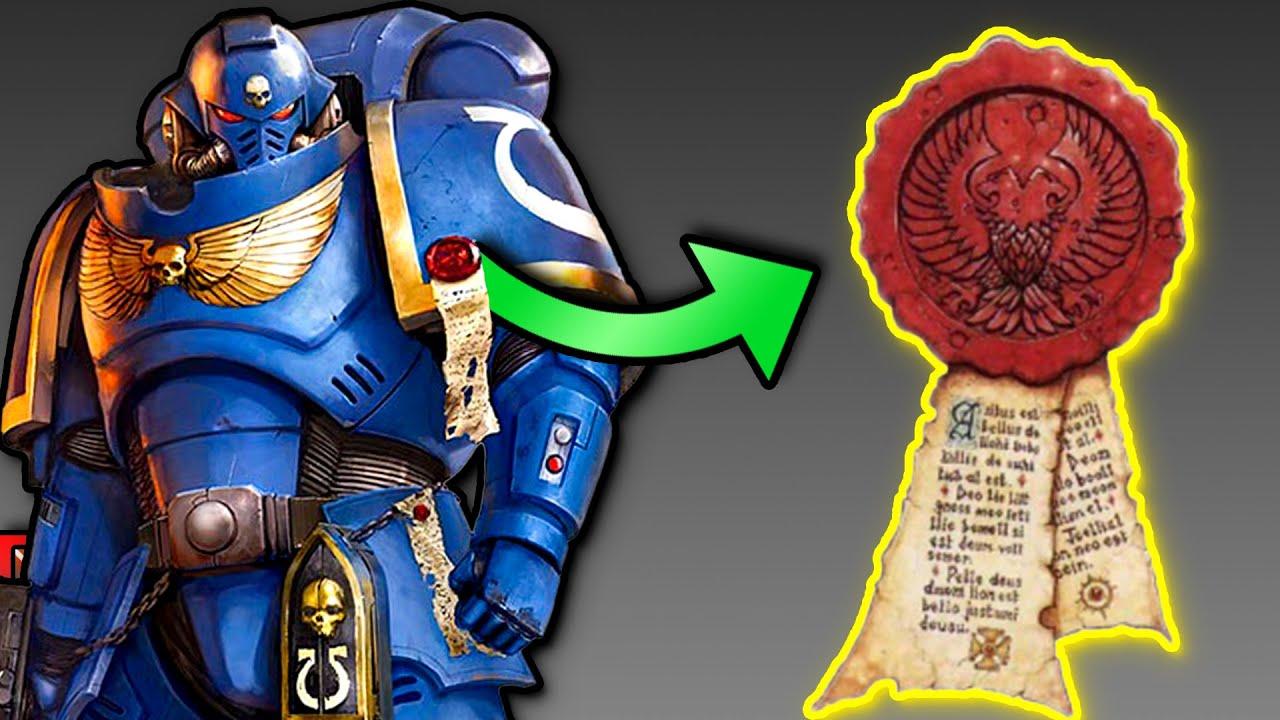 Was sind diese SIEGEL bei SPACE MARINES? - Warhammer 40k REINHEITSSIEGEL erklärt