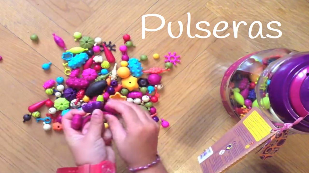 Pulseras para niños Pop, Arty  Un juego infantil muy divertido