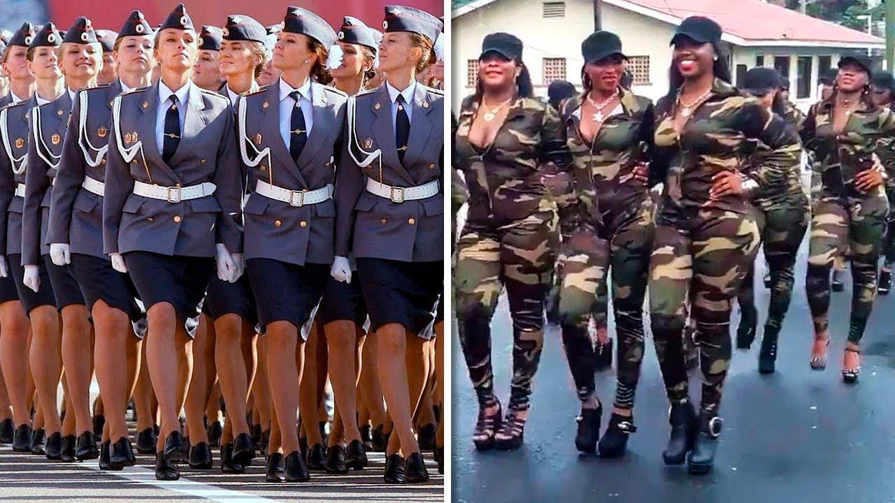 7 Fuerzas Armadas Femeninas Más Bellas del Mundo