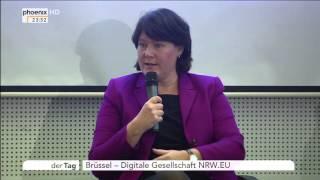 Digitale Gesellschaft NRW.EU: Interview mit Günther Oettinger am 26.10.2015