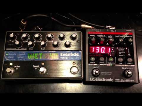 Eventide Timefactor vs TC Electronic Nova Delay