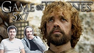 "Game of Thrones Season 5 Episode 7 REACTION ""The Gift"""