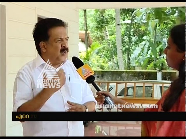Ramesh Chennithala responds on Oommen Chandy's appointment