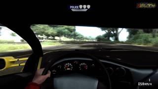 Test Drive Unlimited Xbox 360 - Lamborghini Diablo GT Free Ride