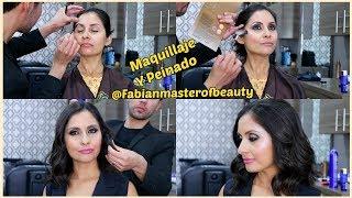 MAKEOVER | Maquillaje y Peinado Por Fabian Master Of Beauty  - IsabellaBeauty