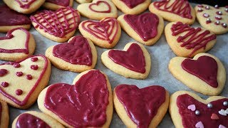 САХАРНОЕ ПЕЧЕНЬЕ с сахарной глазурью (без белка)/St. Valentine