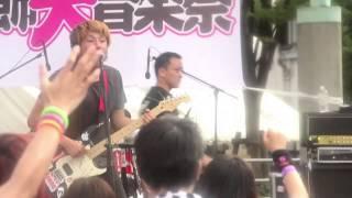 THE SNEEZE 朝が来るまで 2013.07.07 葛飾大音楽祭 亀有リリオパーク JU...