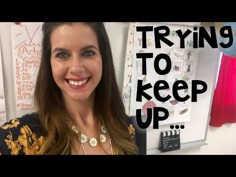 Just trying to keep up  Teacher Vlog Ep.13