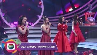 Bidadari Indosiar Lesty Aulia Selfi dan Rara Terimakasihku Buat Penonton Histeris - LIDA 2019
