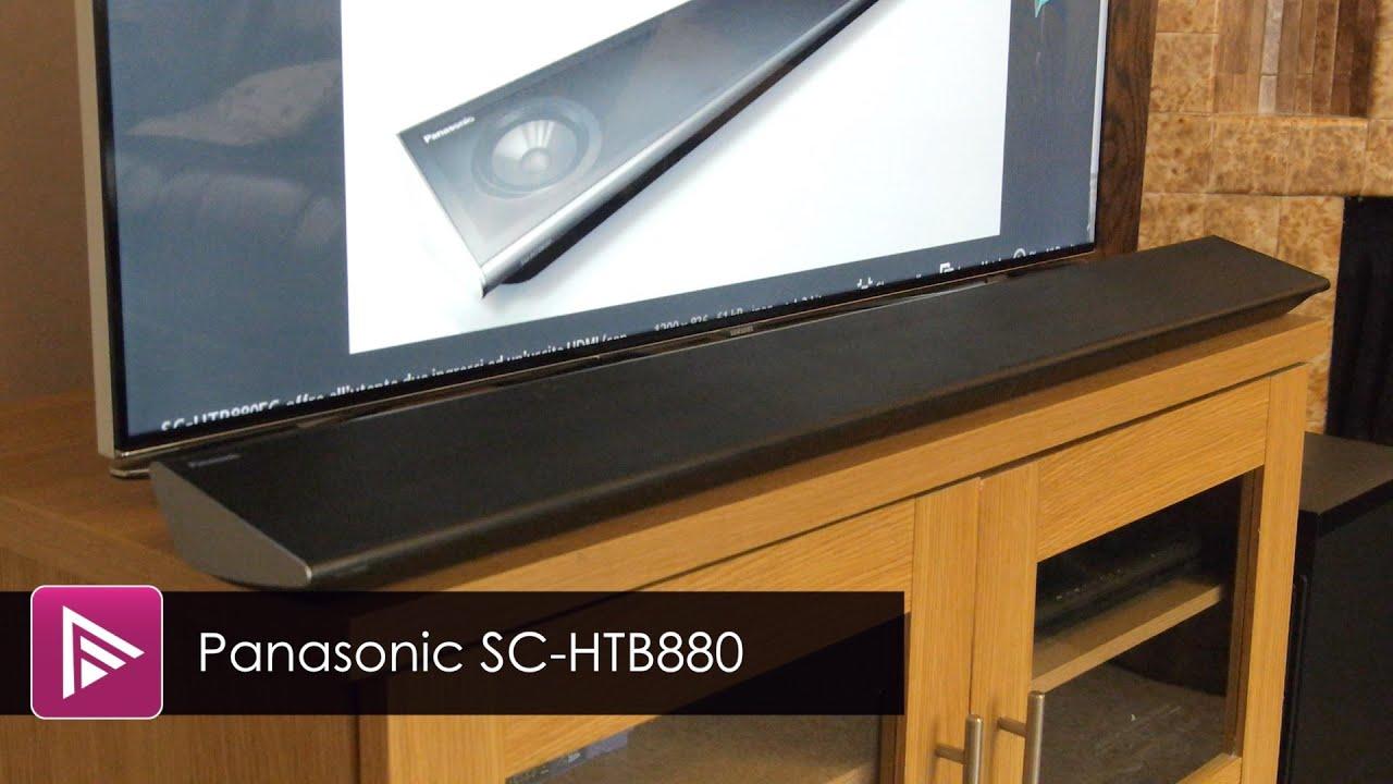 Panasonic Sc Htb880 Soundbar Review Youtube