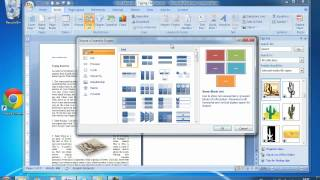 Online Video Tutorial - ECDL Module 3 Tutorial 5 Microsoft Word