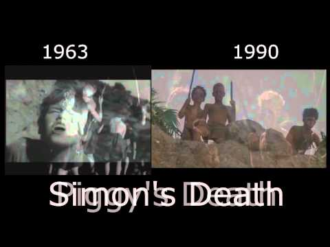 Simon and Piggy's Deaths - Lord of the Flies 1963/1990