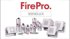 Test on Lithium Batteries Fire by FirePro Benelux