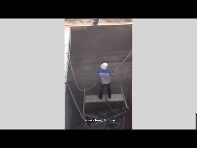 Hướng dẫn thi công chống thấm bể nước Nhà máy