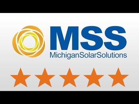 Michigan Solar Solutions: Michigan Renewable Energy