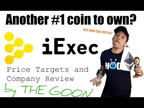 iExec RLC  ⌨️ 🖥 - Company Review And Price Targets 💵🤑💲🚀 (Decentralized Cloud Computing) 😱🌐