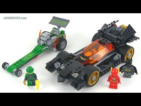 LEGO DC Super Heroes 76012 Batman: Riddler Chase set ...