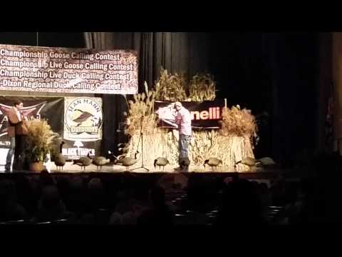 2014 world goose calling competition Mike Benjamin (second caller) (4th place)