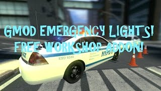 Gmod Police Lights and Sirens Addon!