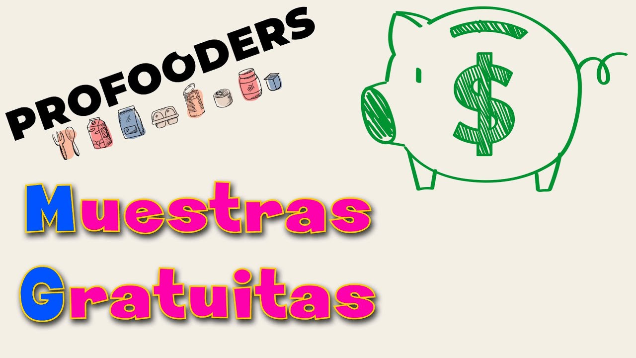 Conseguir Muestras GRATUITAS de Comida | PROfooders