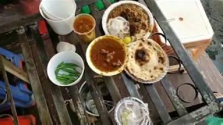 Mutton curry at Azad Market  | Punjabi Khana | Delhi street food