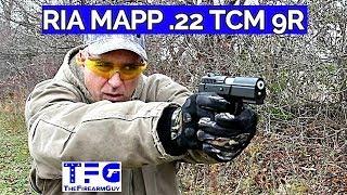 Rock Island Armory MAPP .22TCM9R Range Review - TheFireArmGuy