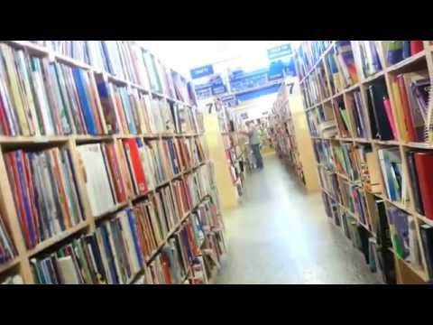 Follow Me To The Used Book Store!